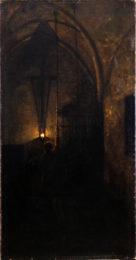Segantini e Arco - Giovanni Segantini, Il campanaro, (1879-1880) Rovereto, Mart