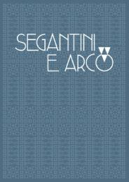 Segantini e Arco - Copertina del catalogo