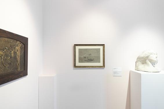 Galleria Civica G. Segantini, exhibition view, ph Jacopo Salvi